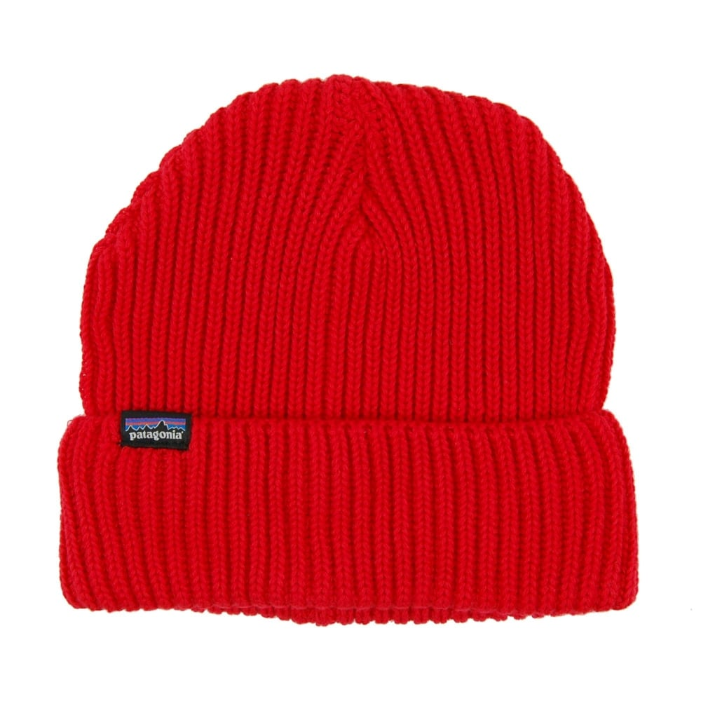 f5a08324163 Patagonia Fishermans Rolled Beanie French Red - Mens Clothing from ...