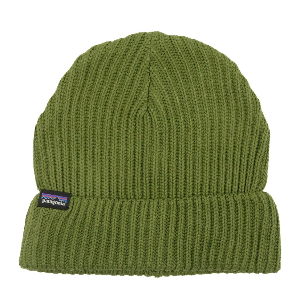 57b2dc4fff6 Patagonia Fishermans Rolled Beanie Glades Green - Mens Clothing from ...