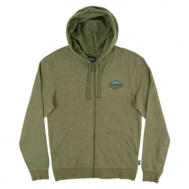 Fitz Roy Crest LW Full Zip Hoody Gorge Green