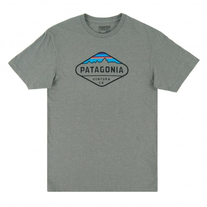 Patagonia Fitz Roy Crest T-Shirt Narwhal Grey
