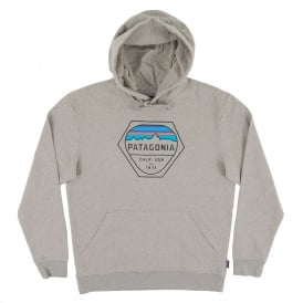 Fitz Roy Hex MW Hoody Feather Grey