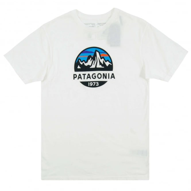 Patagonia Fitz Roy Scope Organic T-Shirt White