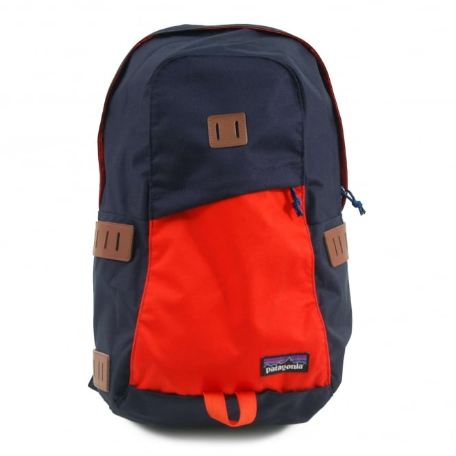 Patagonia Ironwood Backpack 20L Navy Blue Paintbrush Red