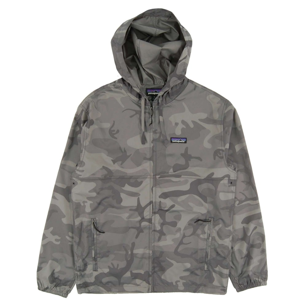 Patagonia Light And Variable Jacket Forest Camo Forge Grey