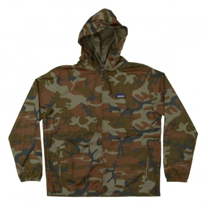 Patagonia Light And Variable Jacket Forrest Camo Hickory