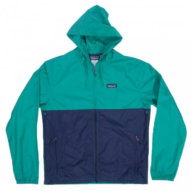patagonia light and variable jacket navy blue emerald mens clothing. Black Bedroom Furniture Sets. Home Design Ideas