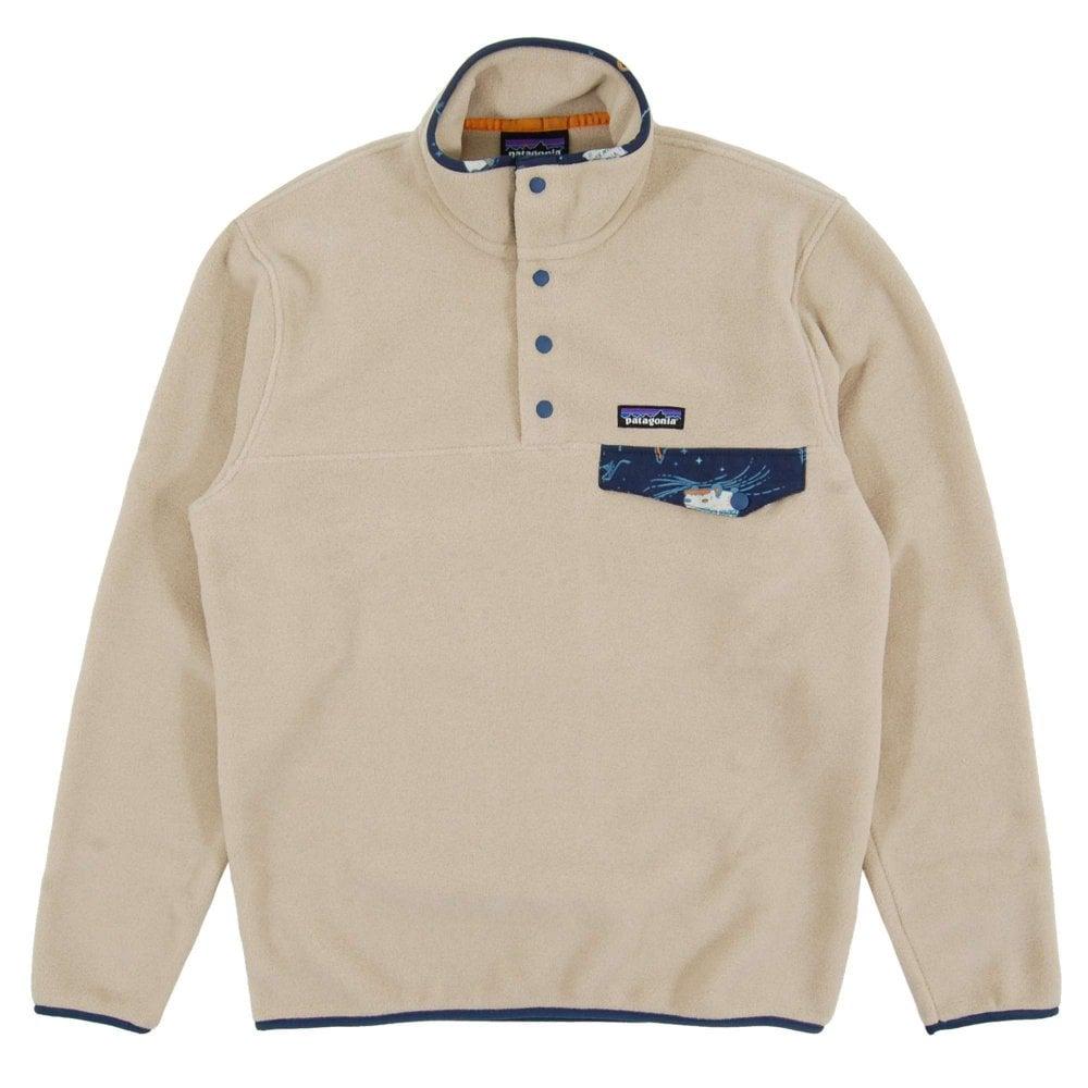 e499ee9e6f4 Patagonia Lightweight Synchilla Snap-T Fleece Pullover Euro El Cap Khaki