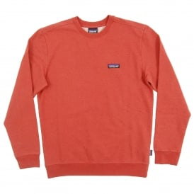 P6 Label MW Crew Sweatshirt Roots Red