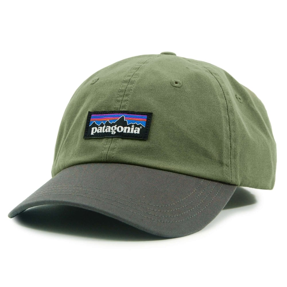 Patagonia P6 Label Trad Cap Dark Ash - Mens Clothing from Attic ... 3202504c0ca