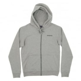 P6 Logo MW Zip Hoody Feather Grey