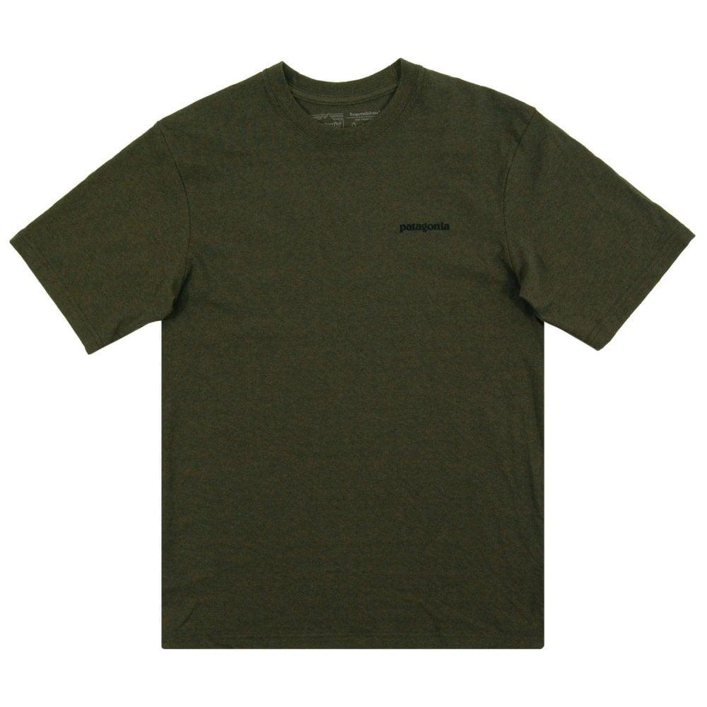 6911b438381e7 Patagonia P6 Logo Responsibili-Tee Sediment - Mens Clothing from ...