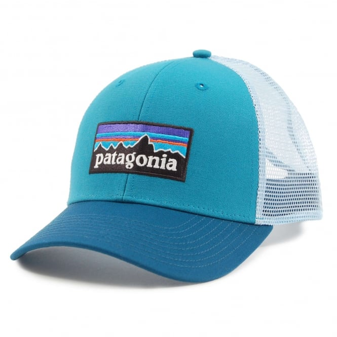 Patagonia P6 Logo Trucker Hat Filter Blue