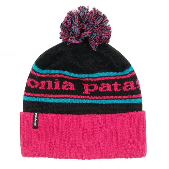 Patagonia Powder Town Beanie Park Stripe Craft Pink