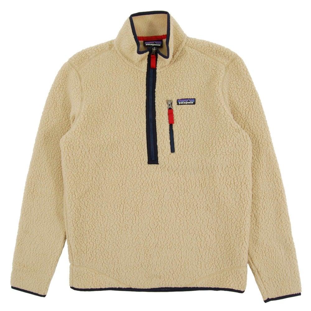 4bc1061b Patagonia Retro Pile Fleece Pullover Jacket El Cap Khaki - Mens ...