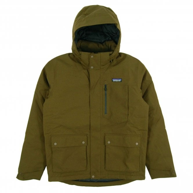 Patagonia Topley Hooded Jacket Sediment Mens Clothing