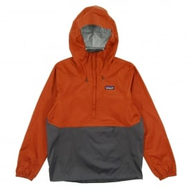 Torrentshell Pullover Jacket Copper Ore Forge Grey