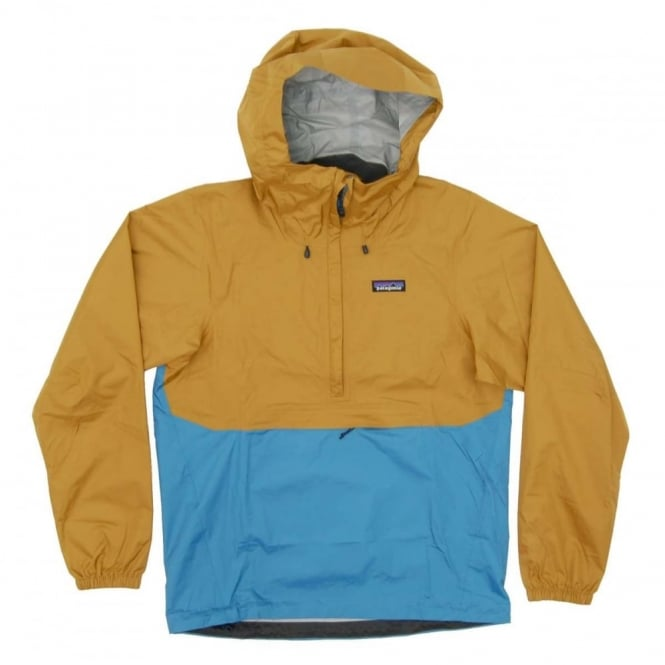 Patagonia Torrentshell Pullover Jacket Oaks Brown - Mens Clothing ...