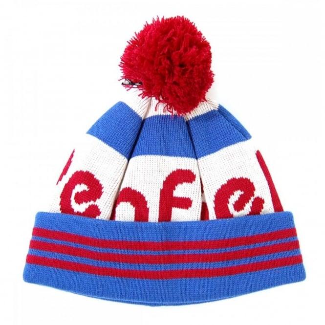 dfa5a0ca Penfield Sanford Bobble Beanie White Blue Red