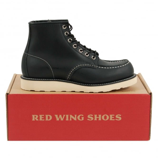 Red Wing Classic Moc Toe 8130 Black Chrome