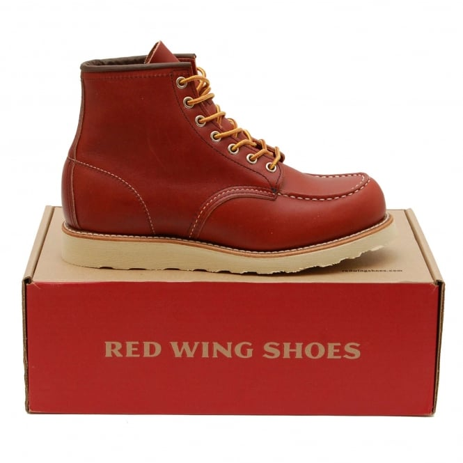 Red Wing Classic Moc Toe 8131 Oro Russet Portage