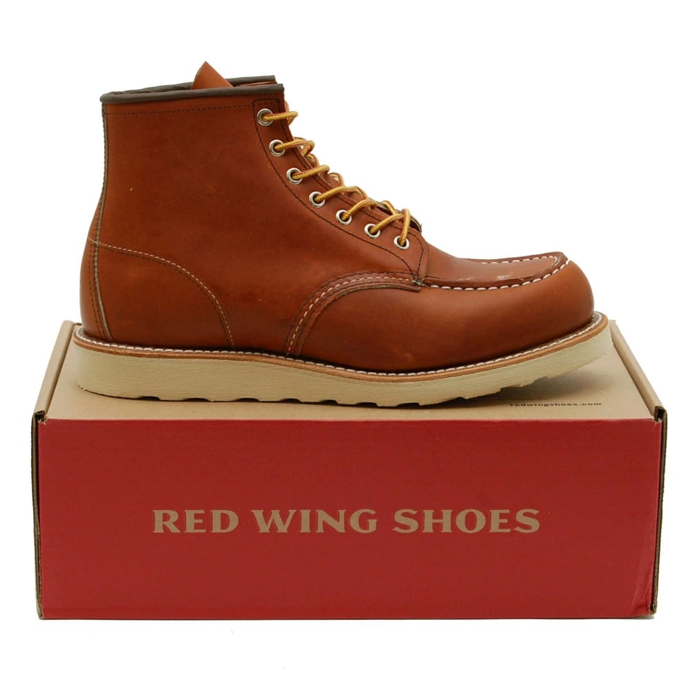 Red Wing 875 Moc Toe Boot, Oro Legacy