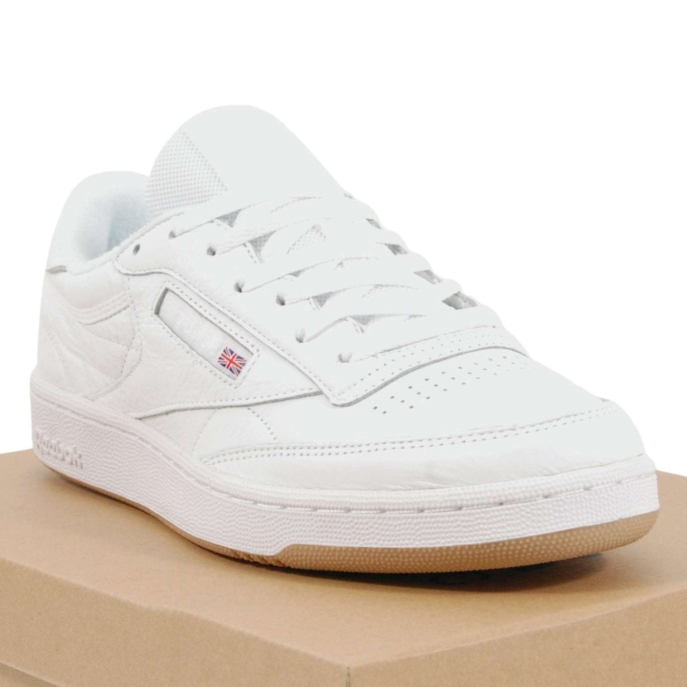 d0d43c23a269 Reebok Club C 85 ESTL White Washed Blue Gum - Mens Clothing from ...