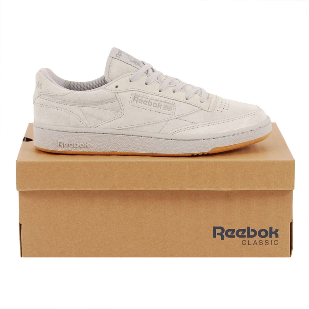 Reebok Club C 85 TG Steel Carbon Gum - Mens Clothing from Attic ... 0b86720d1