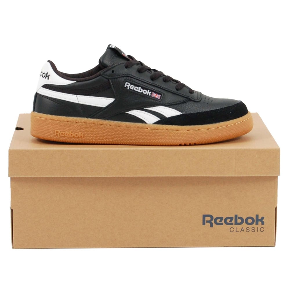 32371a96ab Reebok Revenge Plus Gum Black White