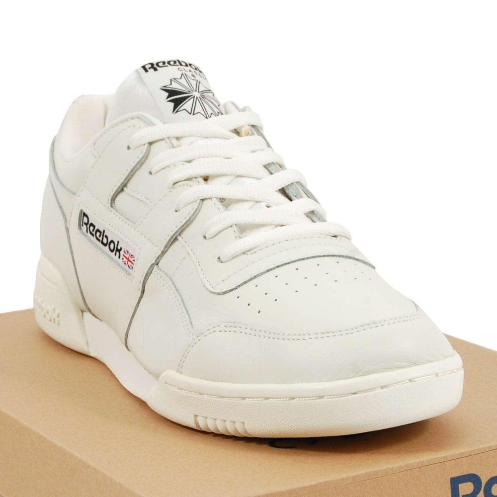 7d41a9af68e83 Reebok Workout Plus MU Vintage Chalk Black - Mens Clothing from ...