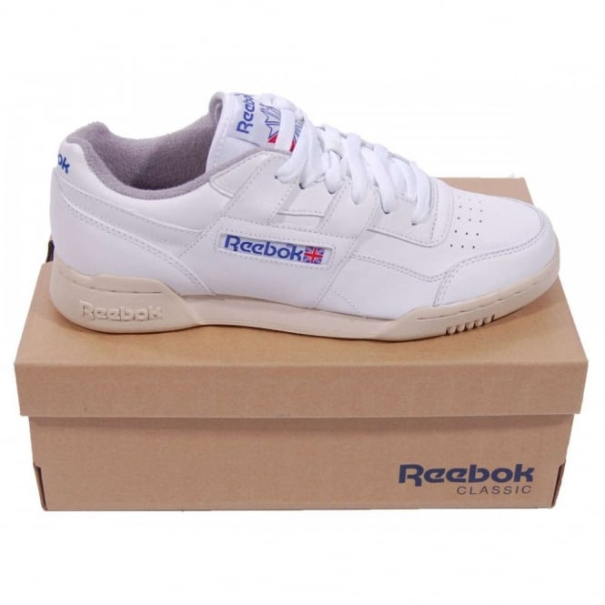 Reebok Workout Plus R12 White White - Mens Clothing from Attic ... 3a421a5b7
