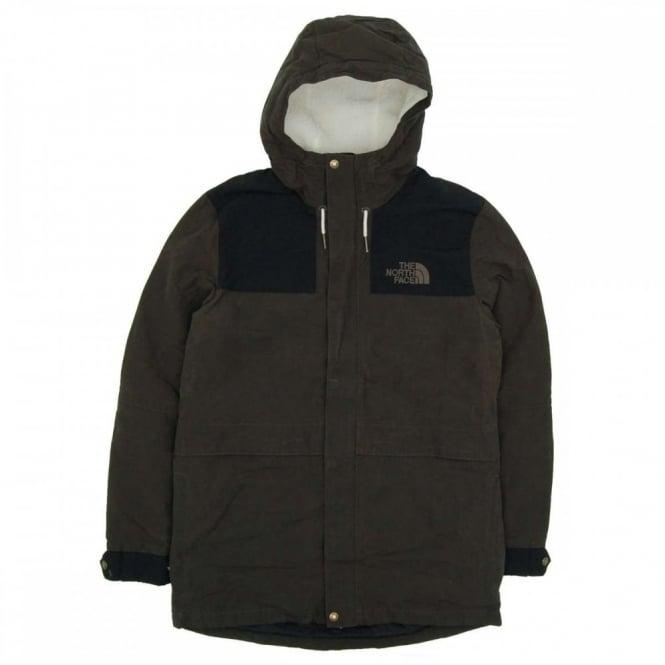 4d84840af The North Face 1985 Sherpa Mountain Jacket Black Ink Green