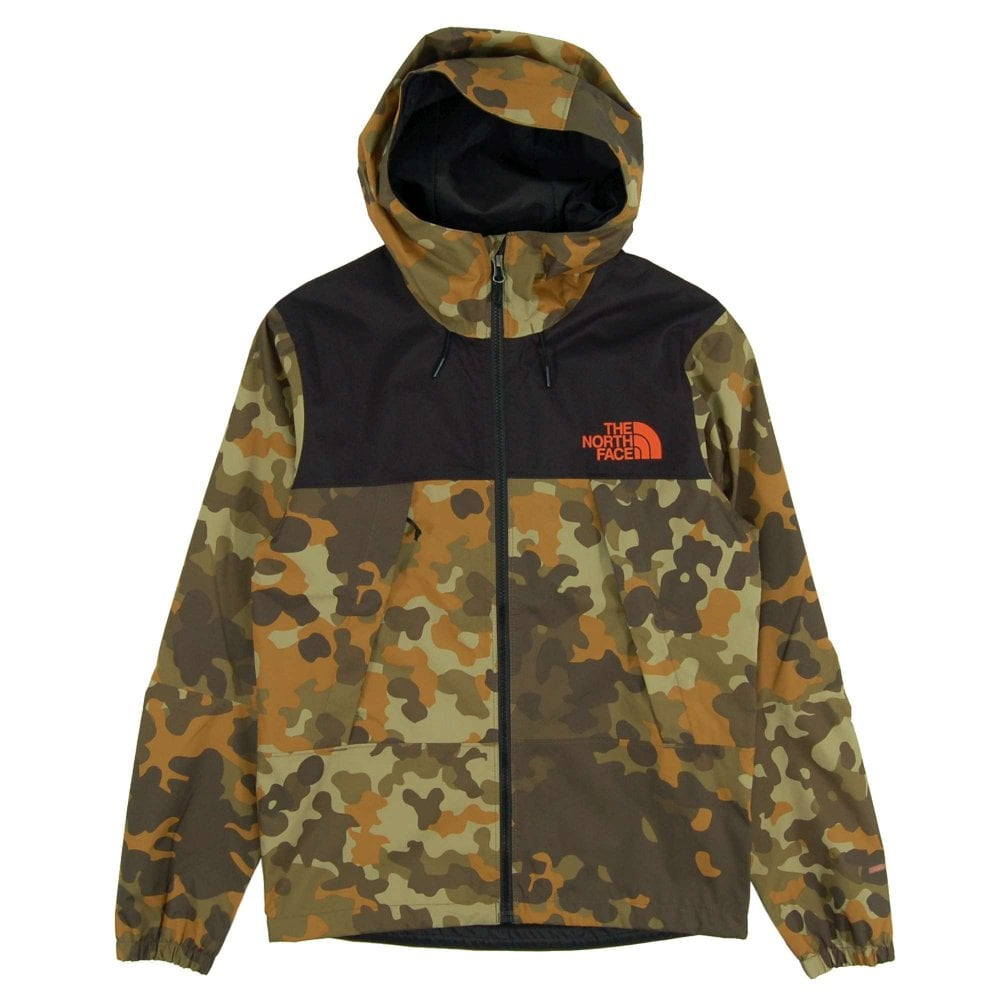 c793bdc7f The North Face 1990 Mountain Q Jacket New Taupe Green Macro Fleck Print