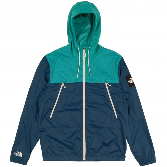 The North Face 1990 Seasonal Mountain Jacket Blue Wing Teal Porcelain Green