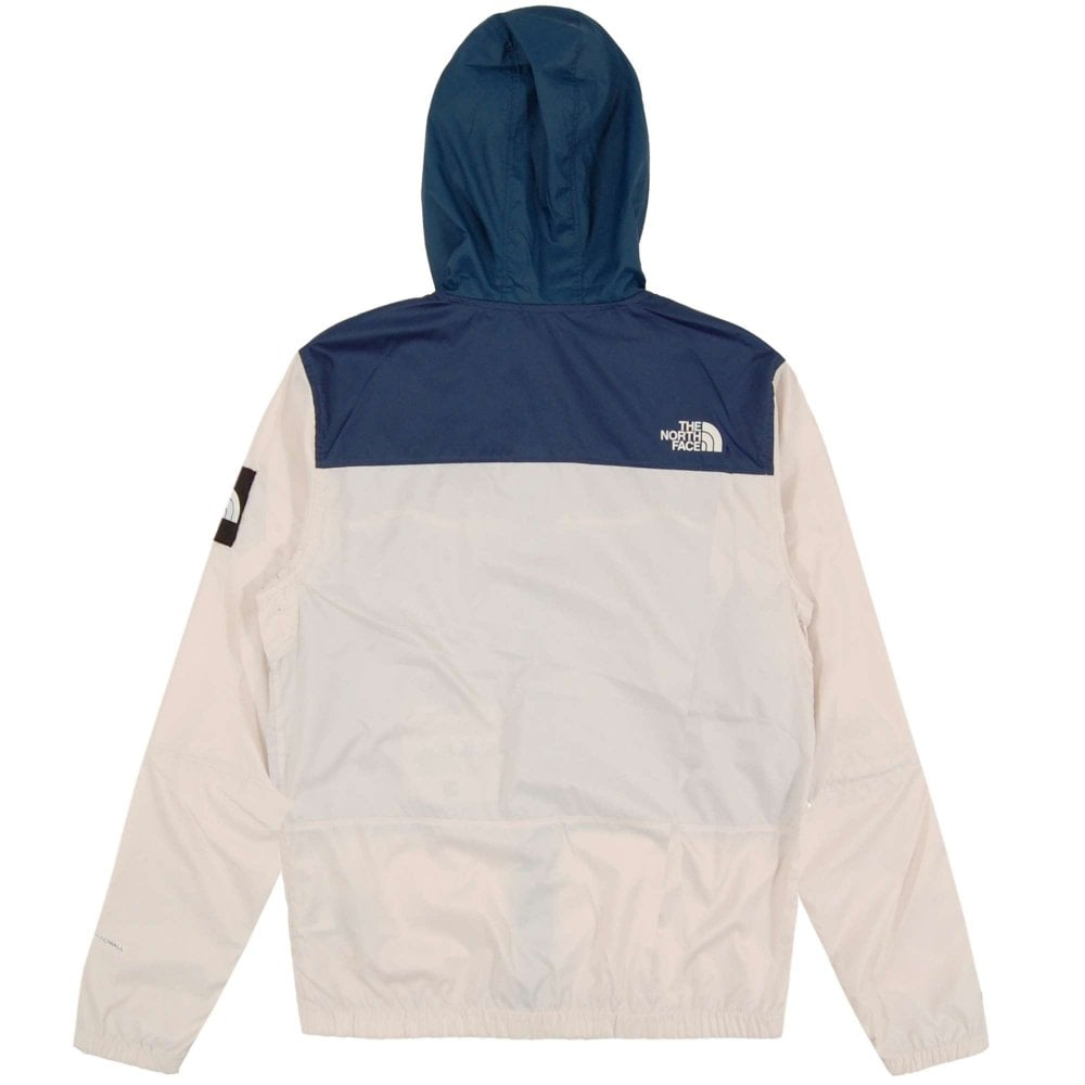 The North Face 1990 Seasonal Mountain Jacket Vintage White Blue Wing ... 408f64a56