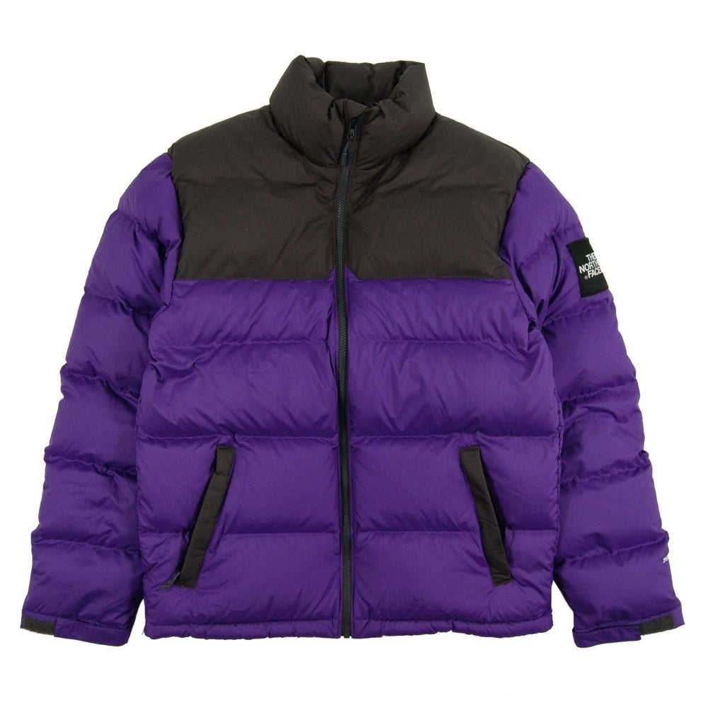 624318a2b The North Face 1992 Nuptse Jacket Tillansia Purple Asphalt Grey