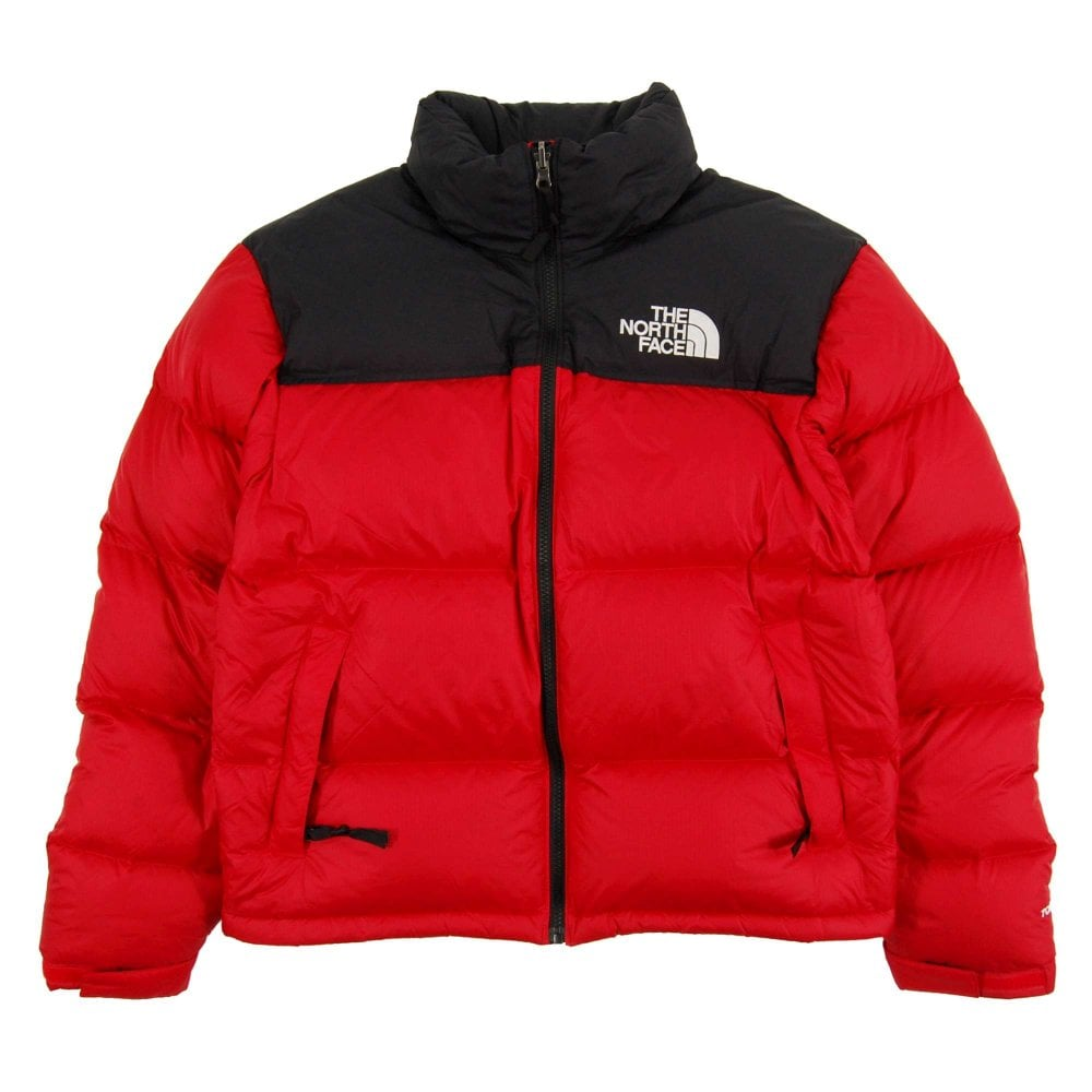 b3339fae2d The North Face 1996 Retro Nuptse Jacket TNF Red TNF Black - Mens ...