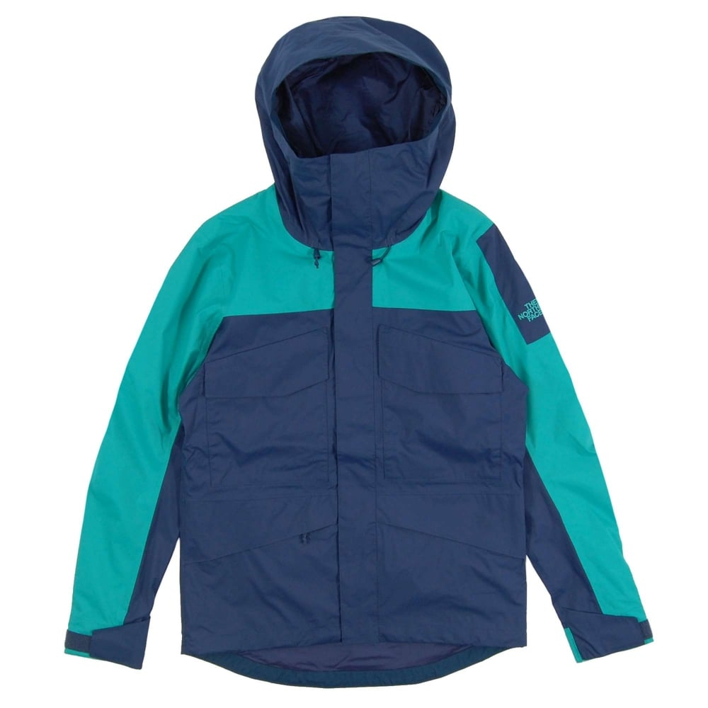 1798d0310beb The North Face Fantasy Ridge Jacket Blue Wing Teal Porcelain Green ...