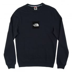 Fine Crew Sweat Light Urban Navy