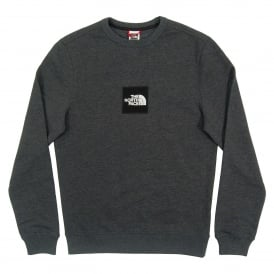 Fine Crew Sweat TNF Dark Grey Heather