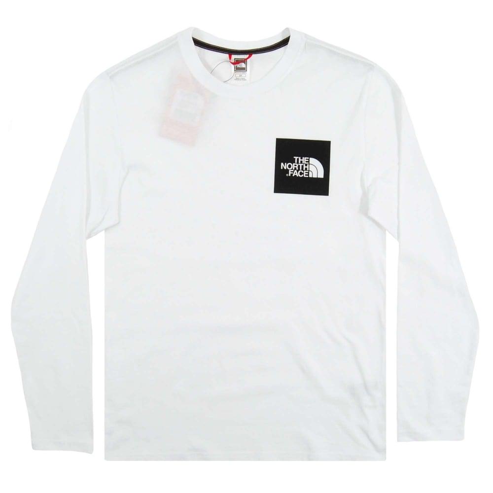 aa45f34e3 The North Face Fine LS T-Shirt TNF White