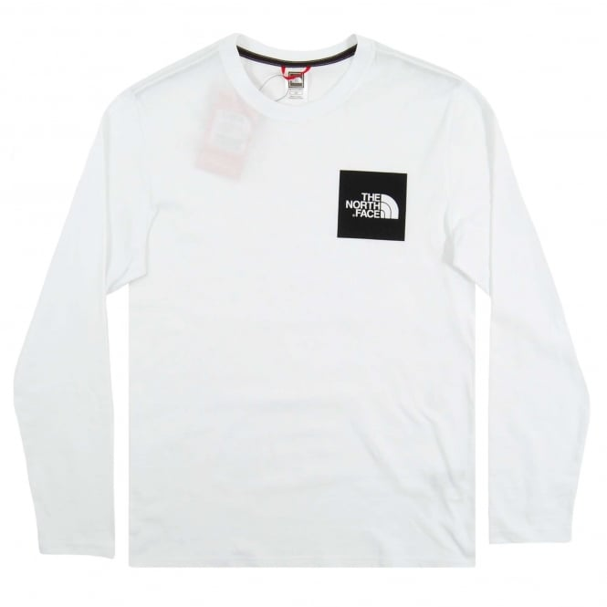The North Face Fine LS T-Shirt TNF White