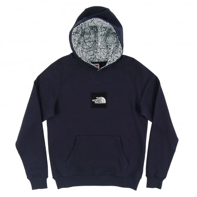 The North Face Fine Pullover Hoody Urban Navy TNF White