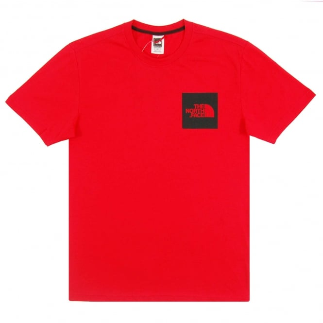 The North Face Fine T-Shirt TNF Red