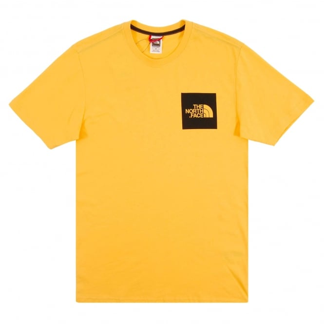 The North Face Fine T-Shirt TNF Yellow