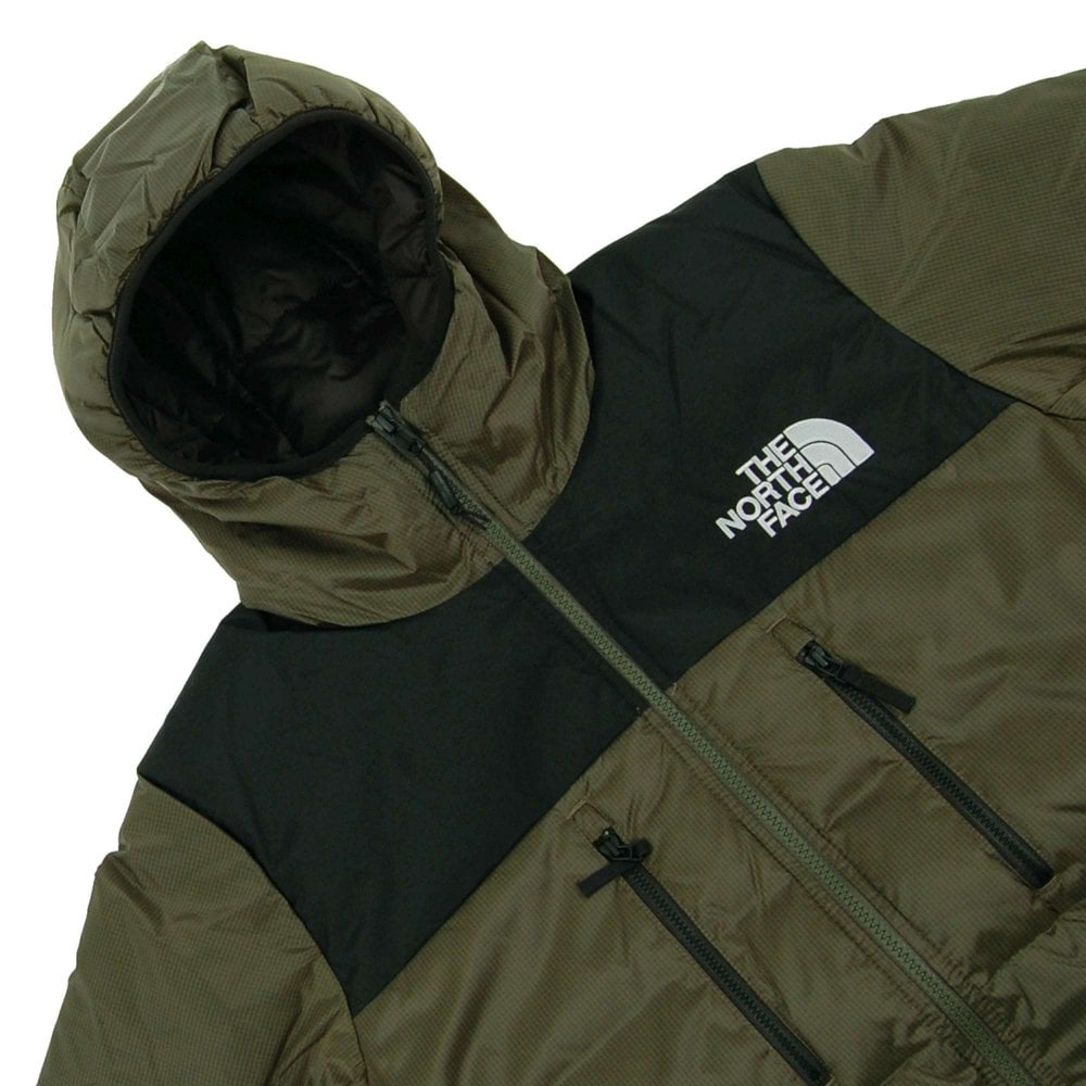 a4d4c8aa1 The North Face Himalayan Light Down Hoodie New Taupe Green TNF Black