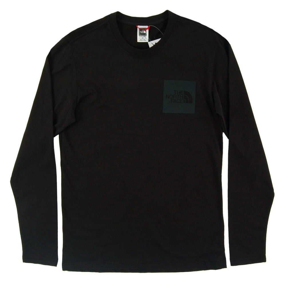 c62621e0e The North Face Long Sleeve Fine T-Shirt TNF Black