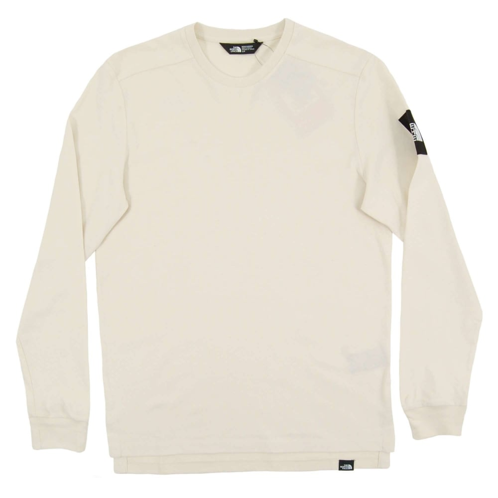 ef39e413d The North Face LS Fine 2 T-Shirt Vintage White