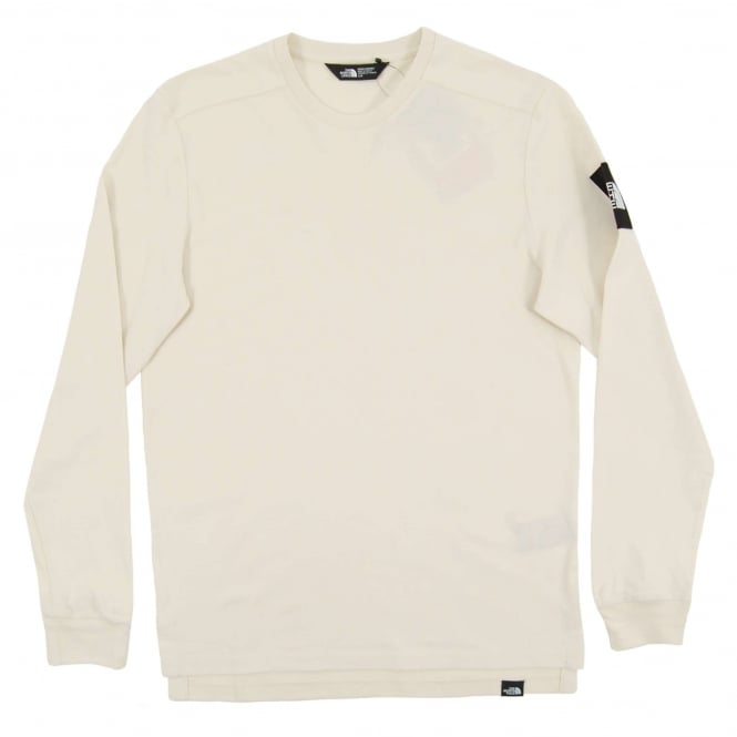 The North Face LS Fine 2 T-Shirt Vintage White