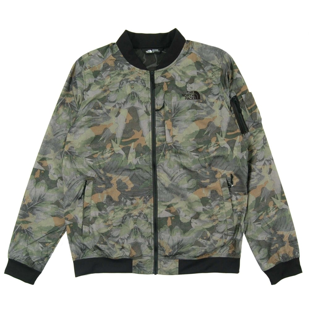 2be43d9f5 The North Face Meaford Bomber English Green Camo