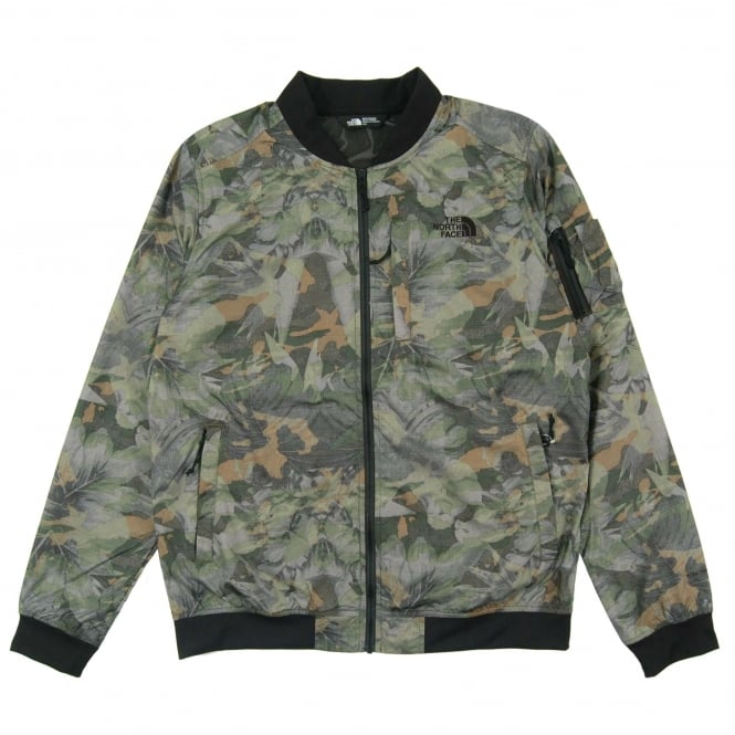 The North Face Meaford Bomber English Green Camo